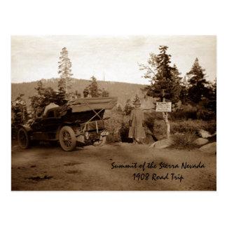 Summit of Sierra Nevada Post Cards