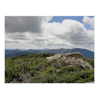 Summit of South Twin Mountain, NH Poster