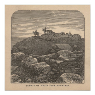 Summit of White Face Mountain Poster