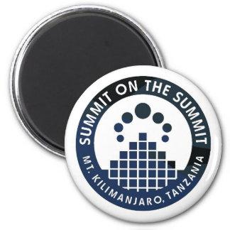 SUMMIT ON THE SUMMIT Magnet