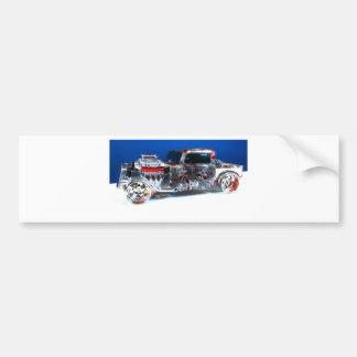 Summit Rat Rod Car Bumper Sticker