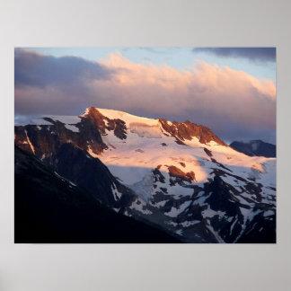 Summit Sunset Poster