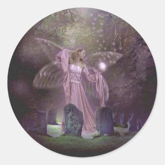 Summoning Fairies Classic Round Sticker