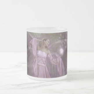 Summoning Fairies Frosted Glass Coffee Mug