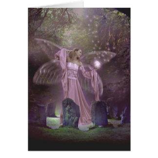 Summoning Fairies Greeting Card