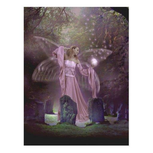 Summoning Fairies Postcard