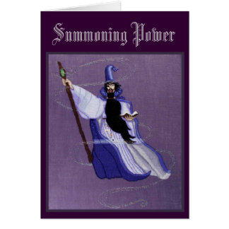 SUMMONING POWER GREETING CARD