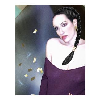 Summoning the Muses - Self Portrait Letterhead