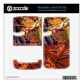 Summoning Tyr BlackBerry Bold 9700 Vinyl Skin Decal For BlackBerry