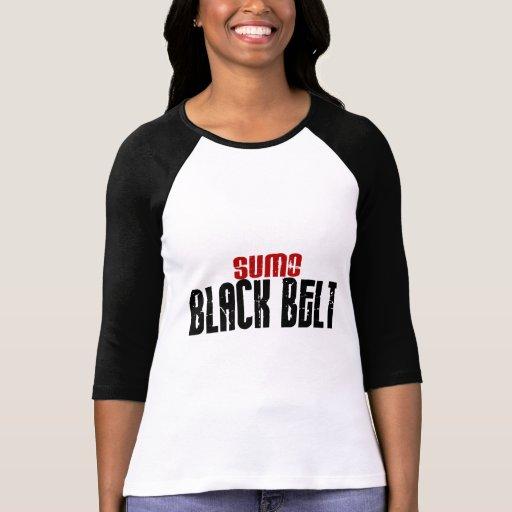 Sumo Black Belt Karate Shirts