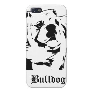 Sumo Bulldog Stencil Cover For iPhone SE/5/5s