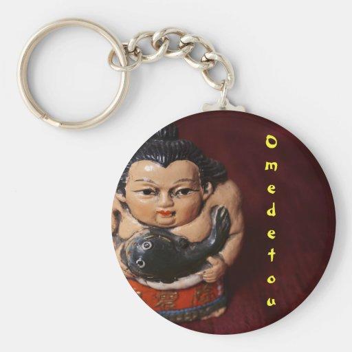 Sumo Congratulations Keychains