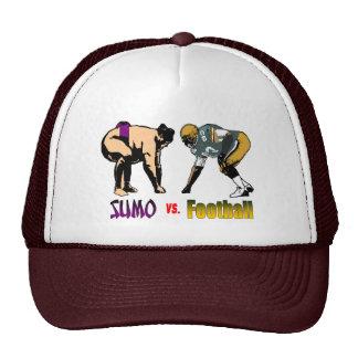 Sumo contra el gorra del fútbol