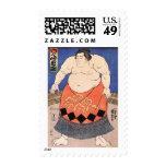 Sumo del vintage sellos