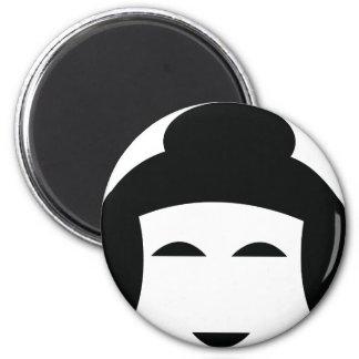 sumo head icon magnet