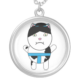 Sumo Kitty Necklace