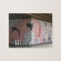 Sumo Mural Wall Art Jigsaw Puzzle