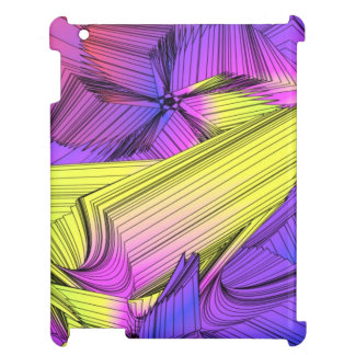 Sumo Purple and Yellow Stars Cover For The iPad 2 3 4