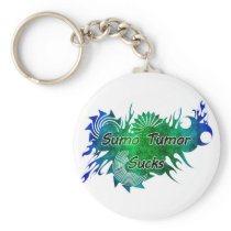 Sumo Tumor Sucks Keyring