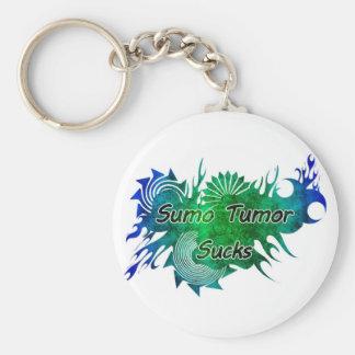 Sumo Tumor Sucks Keyring