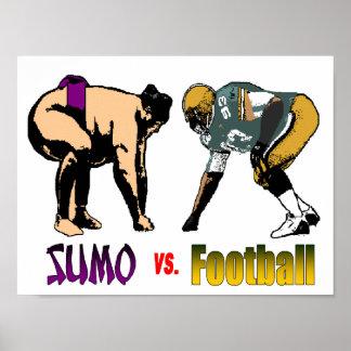 Sumo vs. Football Poster