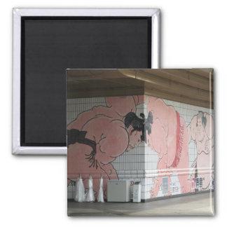Sumo Wall Art Magnet