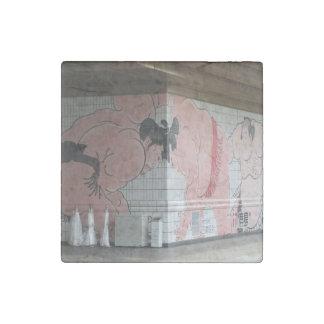Sumo Wall Art Stone Magnet
