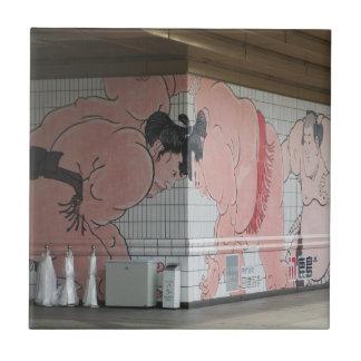 Sumo Wall Art Tile