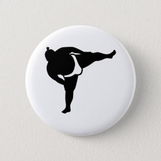 Sumo wrestler button