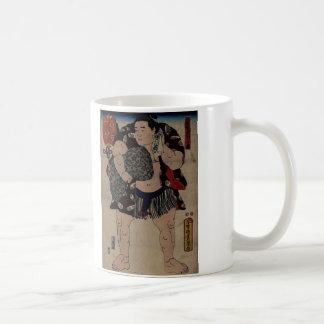Sumo Wrestler  Ichiriki Coffee Mugs