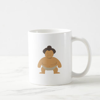 Sumo Wrestler Mugs