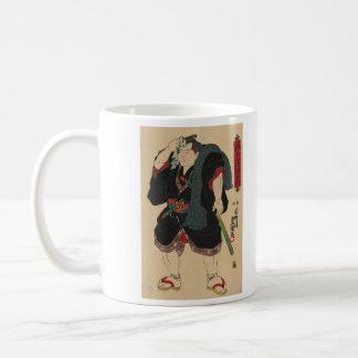 Sumo Wrestler Somagahana Fuchiemon Coffee Mugs