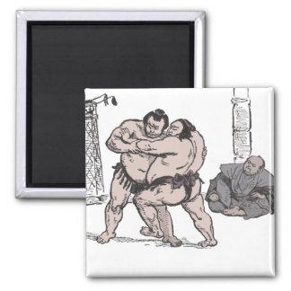 Sumo Wrestlers Magnet