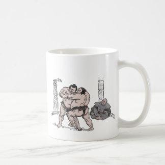 Sumo Wrestlers Mugs