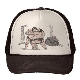 Sumo Wrestlers Trucker Hat