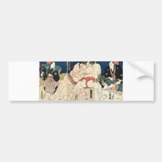 Sumo Wrestling 1860 Bumper Sticker