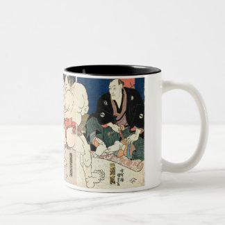 Sumo Wrestling 1860 Mugs