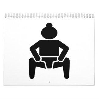 Sumo wrestling wall calendars