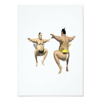 Sumo Wrestling Card