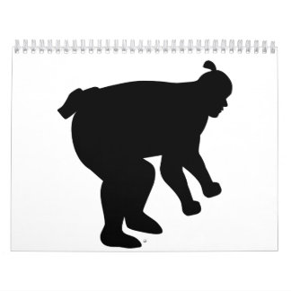 Sumo wrestling fighter calendar