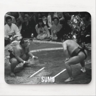 SUMO Wrestling Mouse Pad