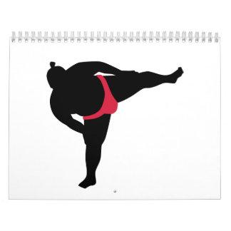 Sumo wrestling sports calendar