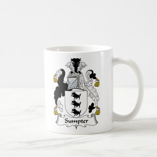 Sumpter Family Crest Coffee Mugs