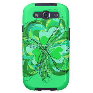 sumptuous shamrock galaxy s3 covers