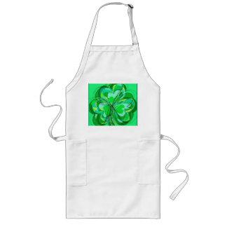 sumptuous shamrock long apron