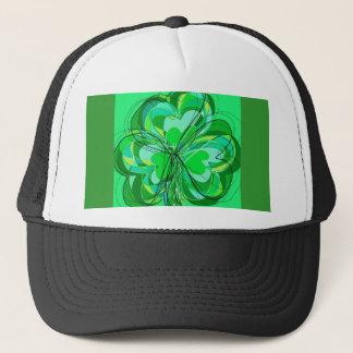 sumptuous shamrock trucker hat