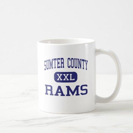 Sumter County - Rams - High - Americus Georgia Classic White Coffee Mug