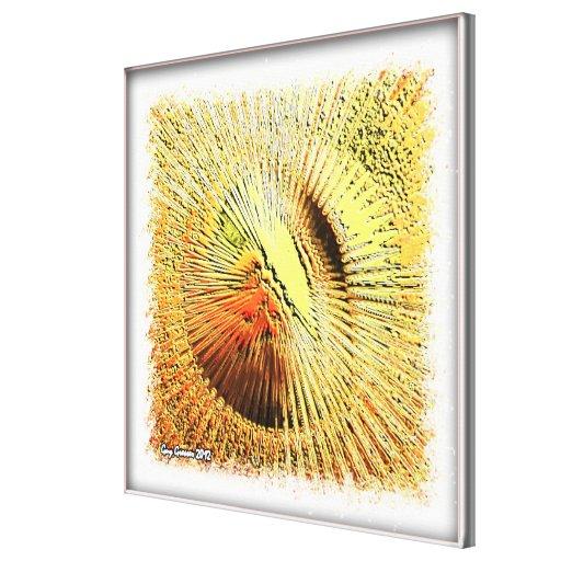 Sun 001 canvas print