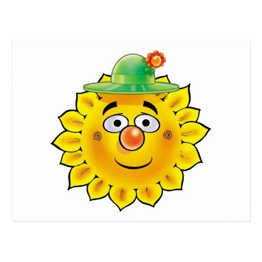 Sun 03 postcard