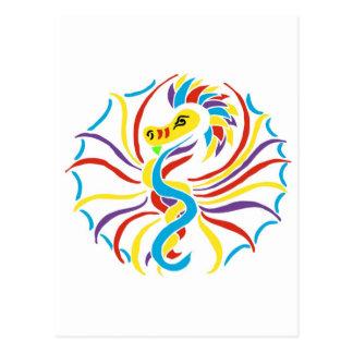 sun 2k10-dragon postcard